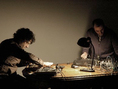 This duo, formed in Barcelona by Juan Matos Capote and Alfredo Costa Monteiro in 2010, employs modified domestic appliances as sound sources.